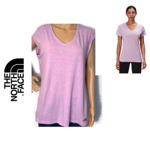 ♦️Buy 1 get ♦️The North Face Women's V-Neck Tee.